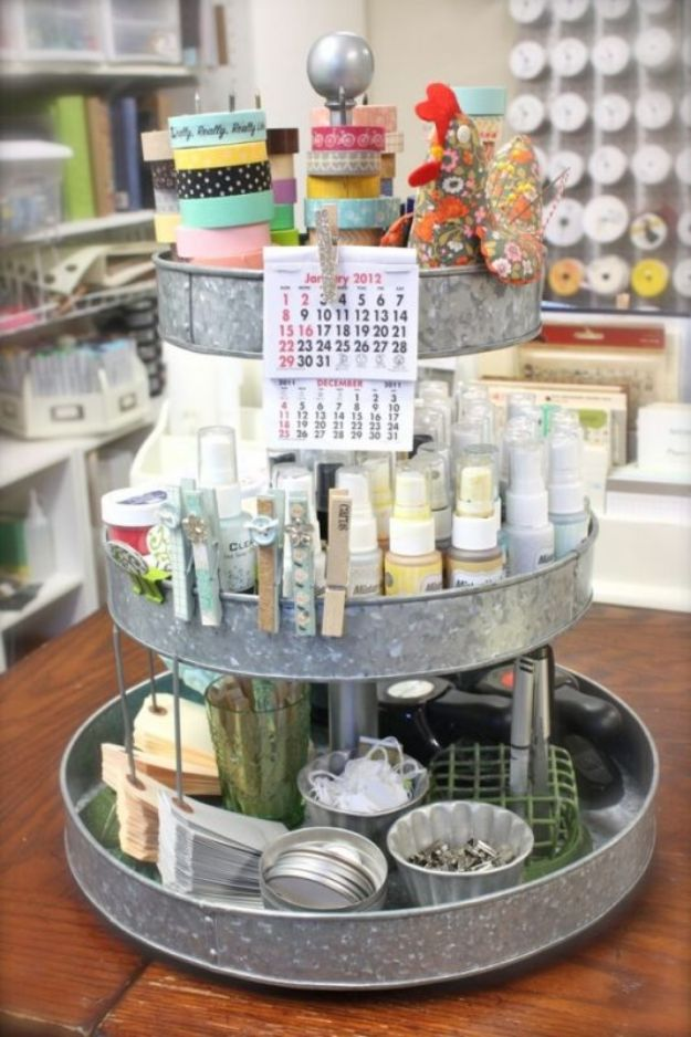 16 Must-Know DIY Organization Ideas For Your Craft Room That Will Boost Your Creativity