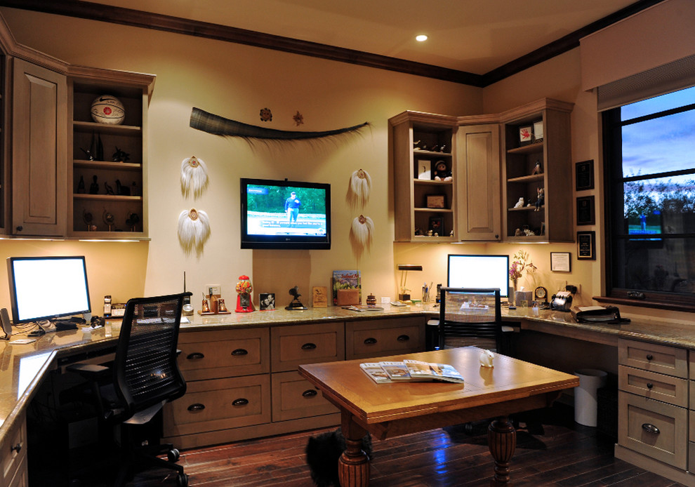 17 Fantastic Southwestern Home Office Designs That Will