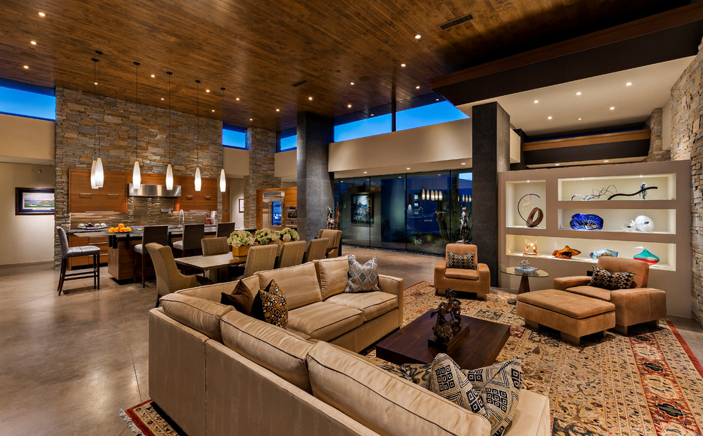 17 Magnificent Southwestern Living Room Designs You'll Adore
