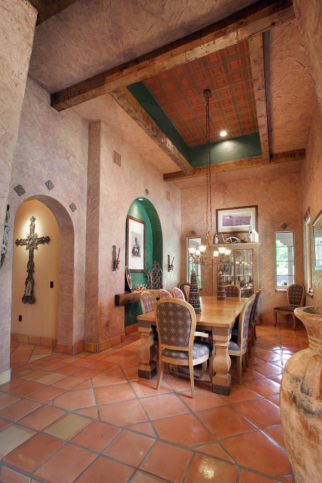 18 Phenomenal Southwestern Dining Room Interiors Youve Got To See