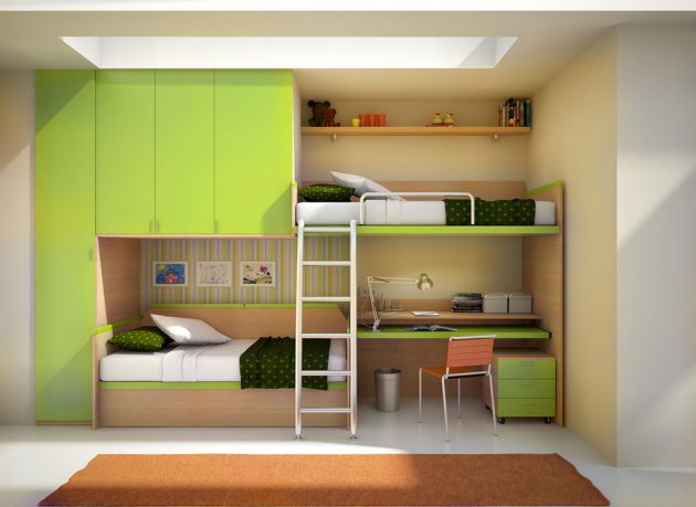 17 Fascinating Bunk Bed Designs To Beautify Every Child's Room