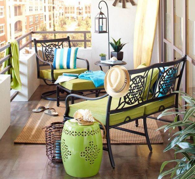 Transform Your Small Balcony Into Irresistible Retreat