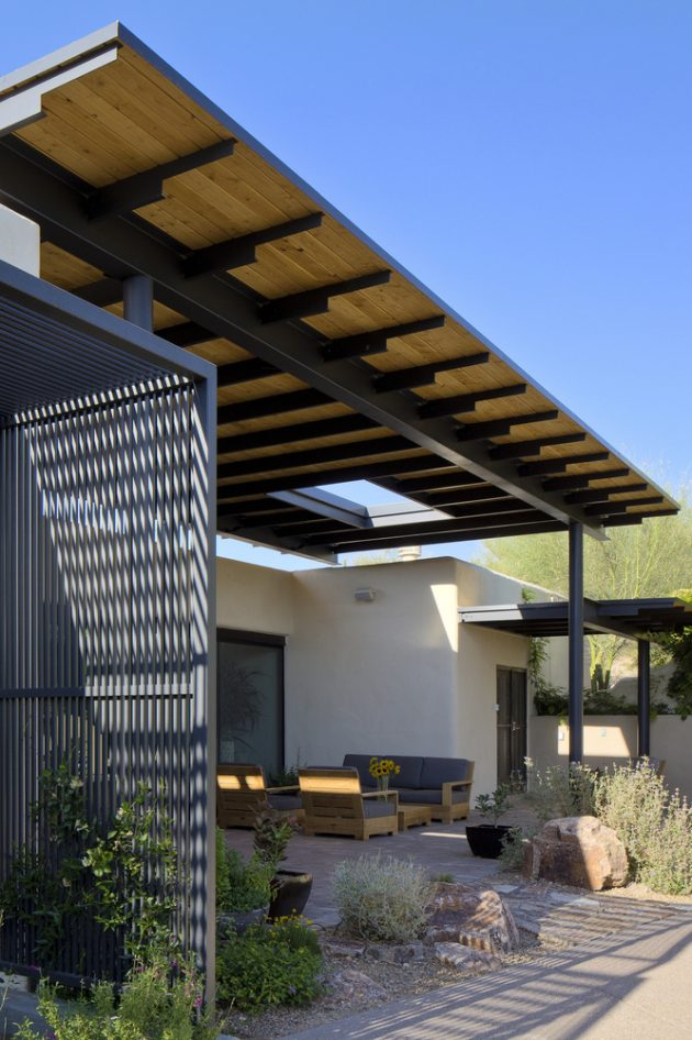 Canopy House by Rob Paulus Architects in Tucson, Arizona