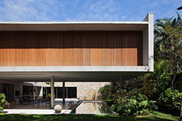Cidade Jardim House by Perkins+Will in Sao Paulo, Brazil