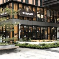 Farzi Cafe Aerocity by Headlight Design Near India's Largest Airport