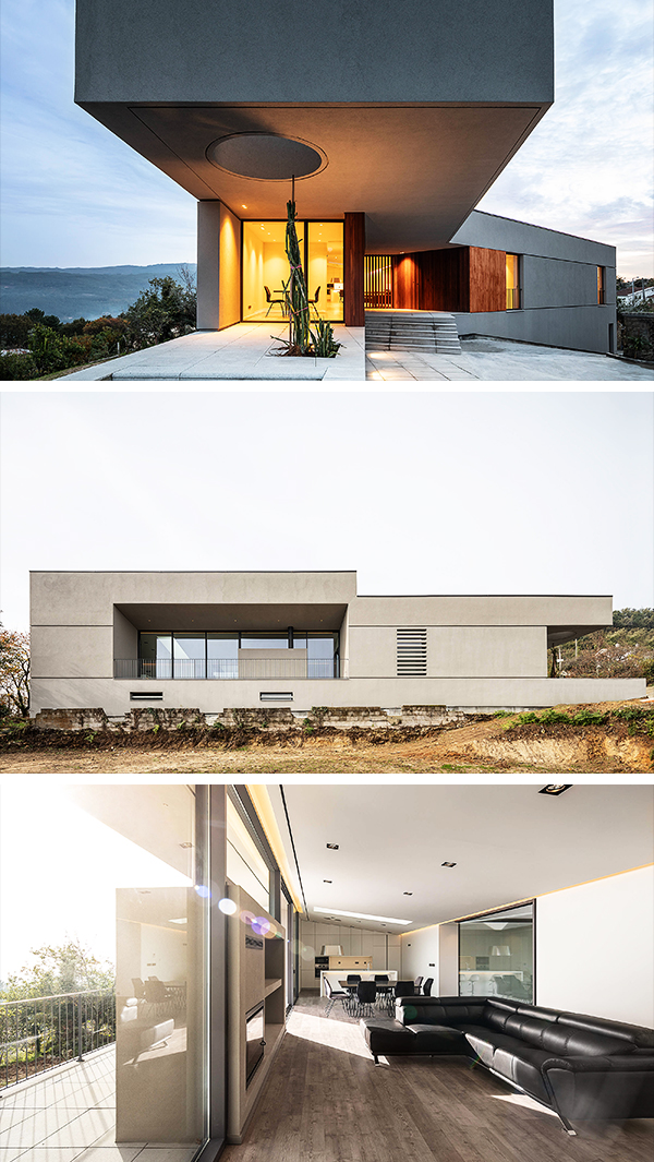 Gr House By Paulo Martins Arq Design In Portugal