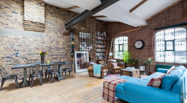 Industrial Penthouse by houseUP in Shoreditch, London