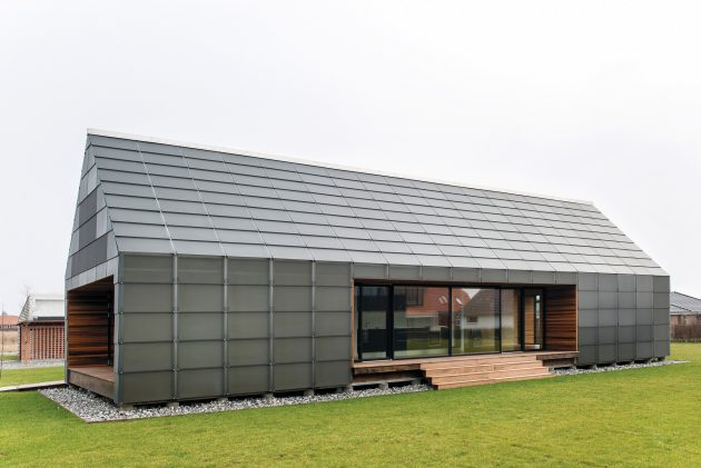 Maintenance Free House by Arkitema Architects in Nyborg, Denmark