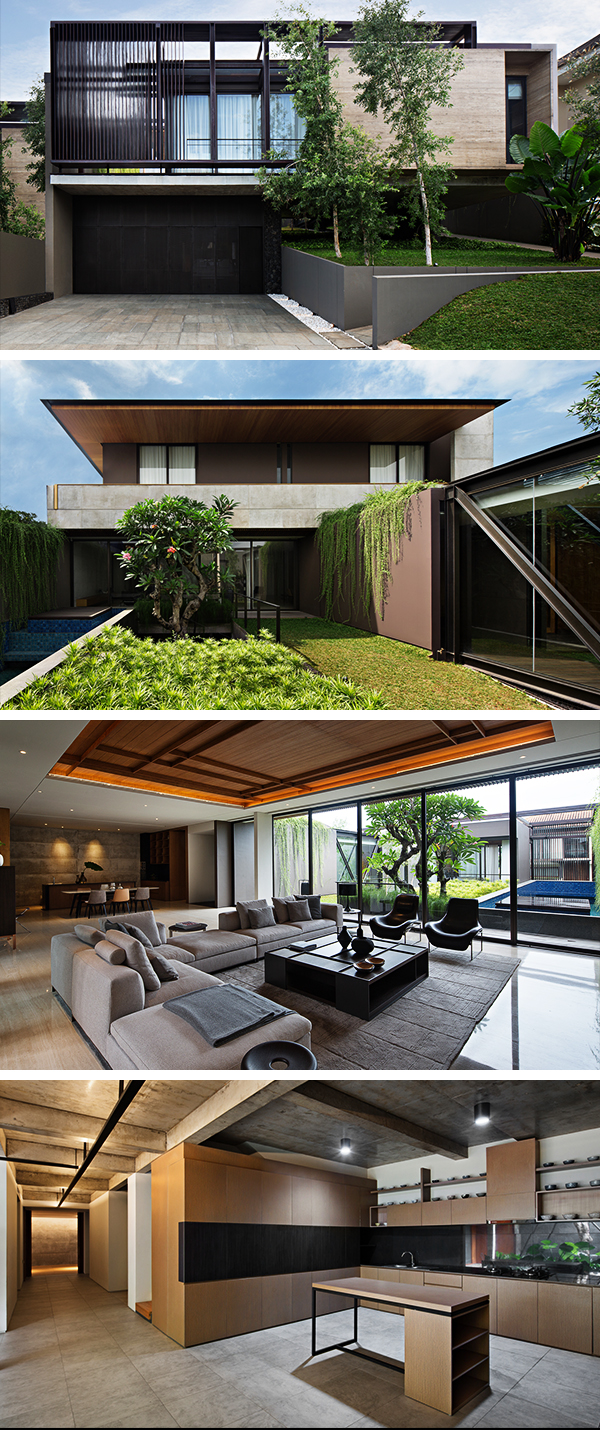 SR House by Nataneka Architect in Jakarta, Indonesia