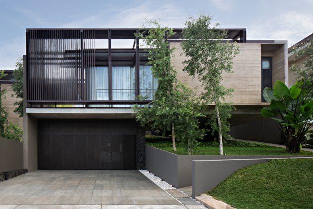 SR House by Nataneka Architect in Jakarta, Indonesia