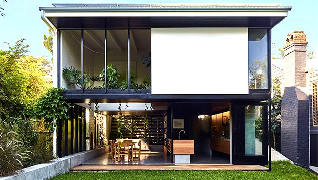 Terrarium House by John Ellway Architect in Brisbane, Australia