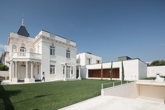 The Eclectic Agueda House in the city of Agueda in Portugal