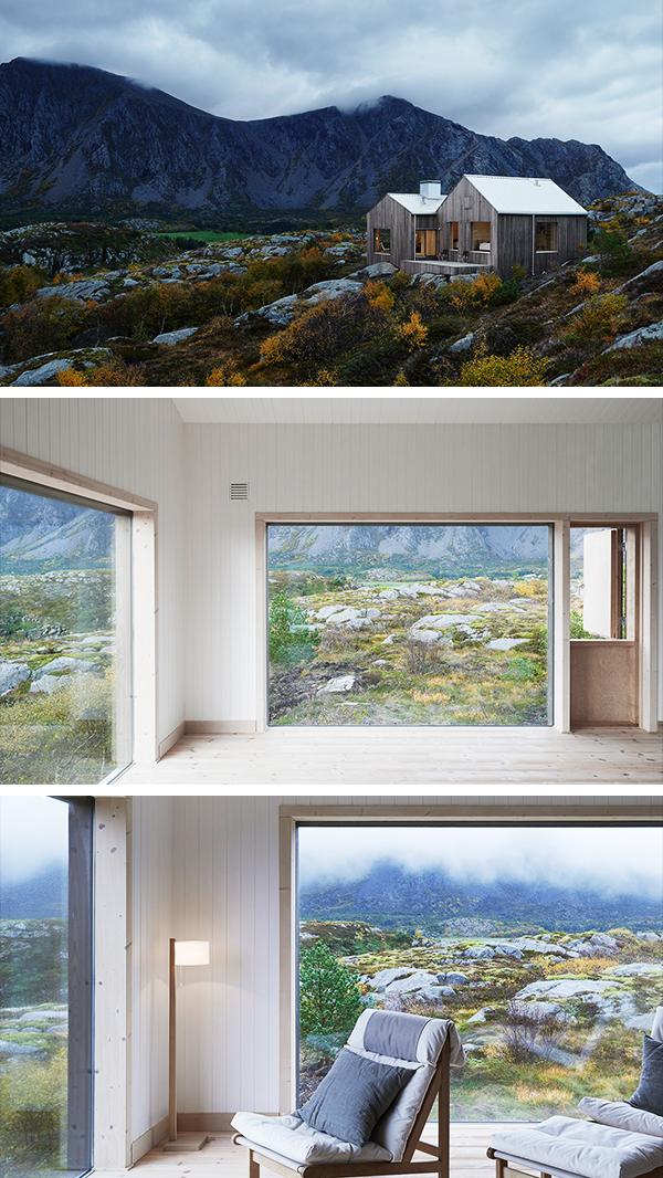 Vega Cottage by Kolman Boye Architects in Vega, Norway