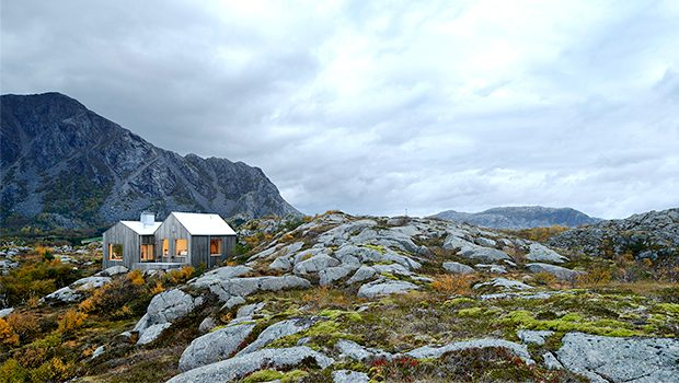 Vega Cottage by Kolman Boye Architects in Vega, Norway