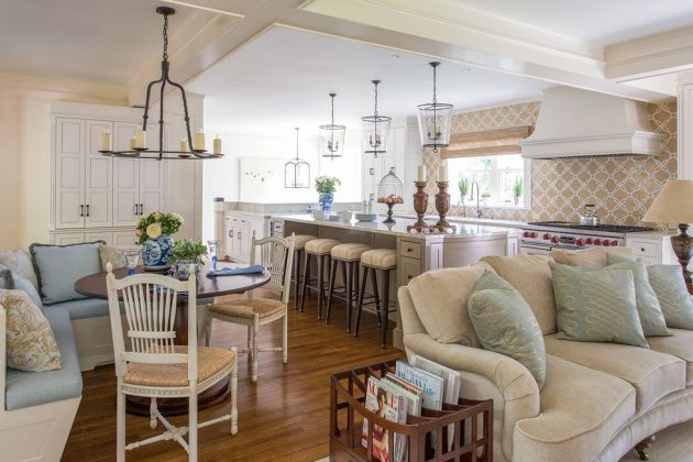 Cozy, Open and Bright Eat In Kitchen Styles for Every Type of Home
