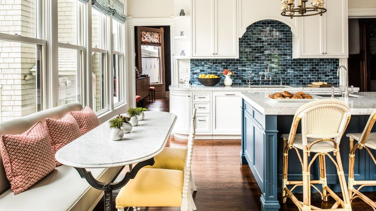 Cozy, Open and Bright Eat-In Kitchen