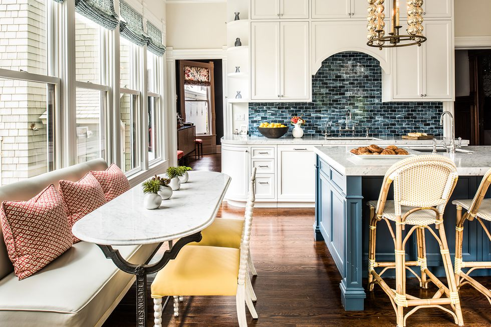 Cozy Open And Bright Eat In Kitchen Styles For Every Type