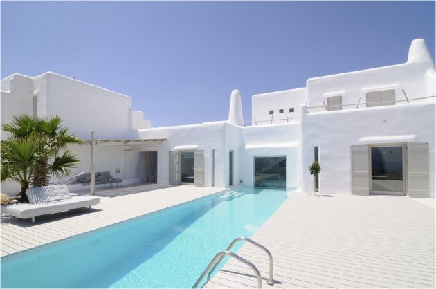 Take a Tour in This Traditional Modern Greek Summer House in Paros, Cyclades by Alexandros Logodotis