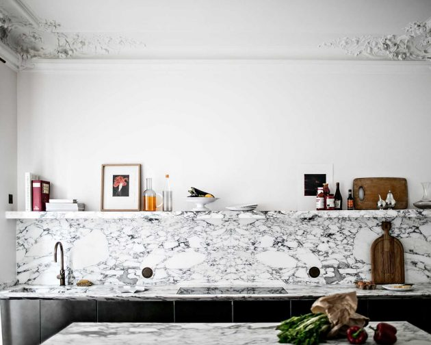 The Marble Kitchens to Pin for Your Dream Board of Interior Design Dreams