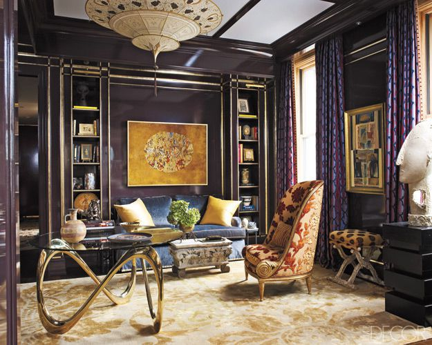 The Metallic Wall Paint Ideas You Have to Try to Brighten Your Home
