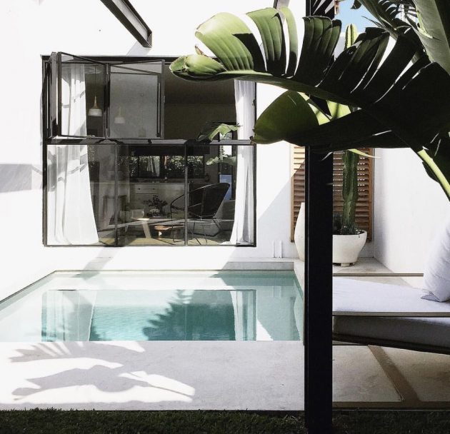 10 Minimalist Swimming Pool Designs for Small Terraced Houses