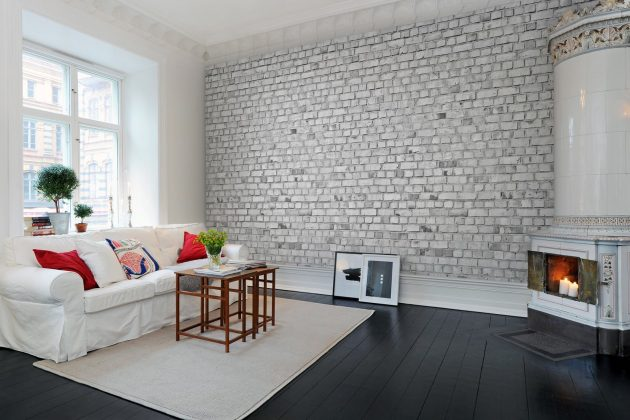 16 Trendy Ideas To Add White Brick Wall In Your Interior Design