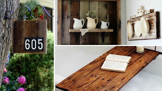 15 Eco-Friendly DIY Reclaimed Wood Craft Ideas For Your Home