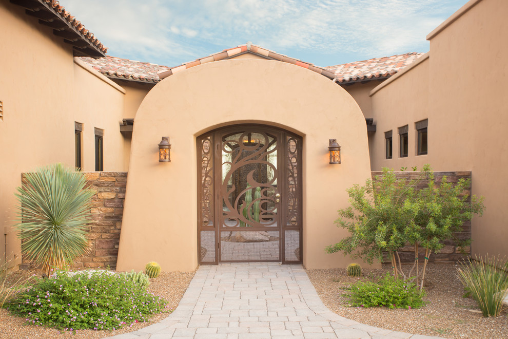 15 Outstanding Southwestern Entryway Designs Youll Fall For