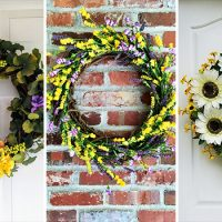 15 Refreshing Handmade Floral Summer Wreath Designs You've Gotta Hang