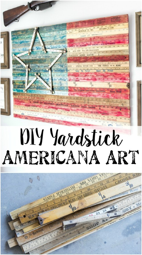 15 Stunning DIY 4th of July Decorations You Can Make From Reclaimed Wood