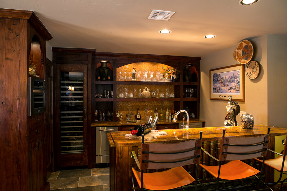 16 Great Southwestern Home Bar Designs For Your Pleasure