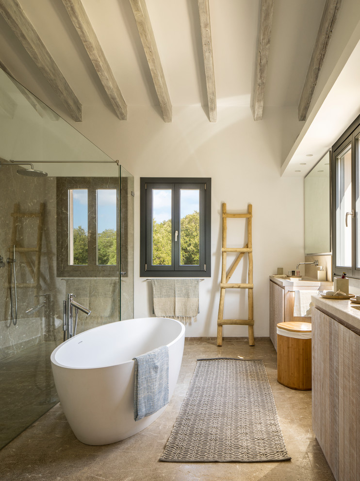 16 Impeccable Mediterranean Bathroom Interiors You Cant Resist