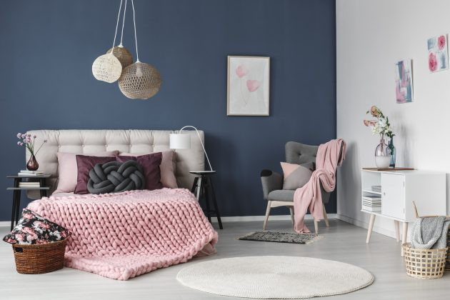 15 Beautiful Design Ideas To Enter Pink In Your Home Decor