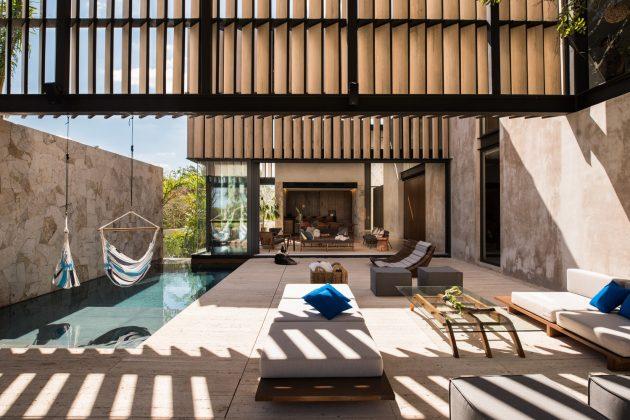 Chaaltun House by tescala in Merida, Mexico