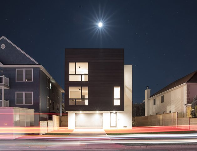 Concept driven, Modern West Beech House in Long Beach, NY