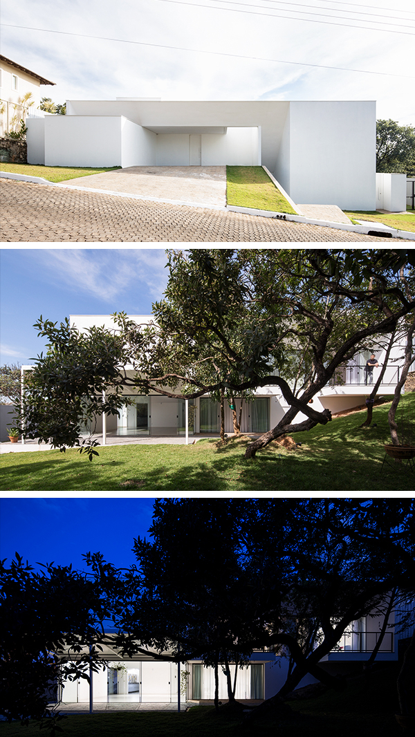 Cora House by Bloco Arquitetos in Brasilia, Brazil