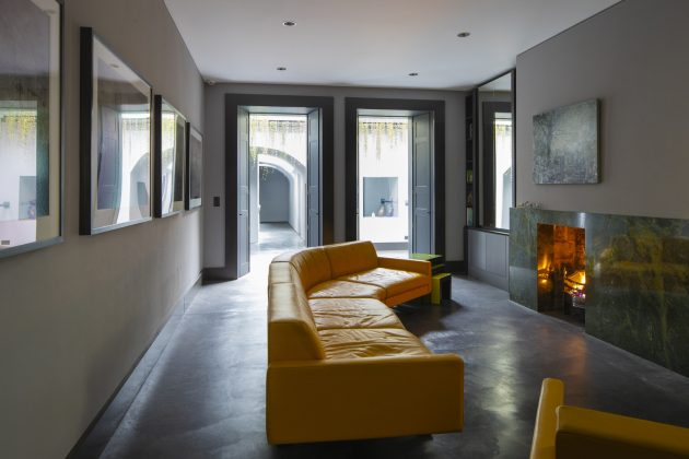 D2 Townhouse by Jake Moulson Architects in Dublin, Ireland