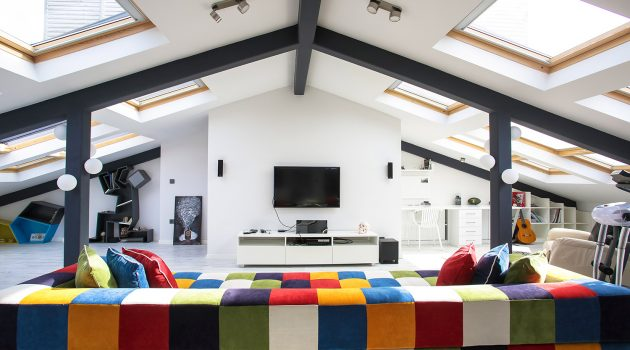 Multifunctional Penthouse by Elips Design Architecture: ATTIC LOFT