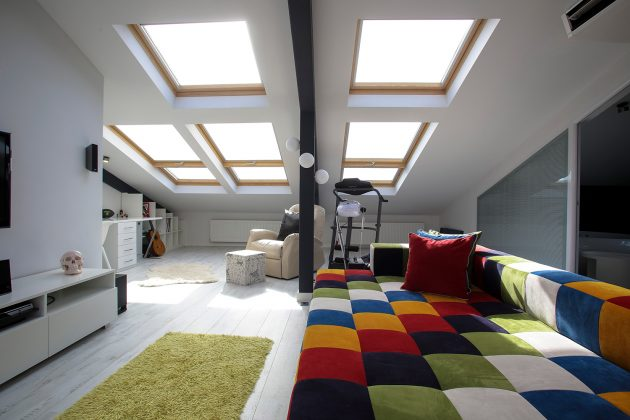 Multifunctional Penthouse by Elips Design Architecture: ATTIC LOFT
