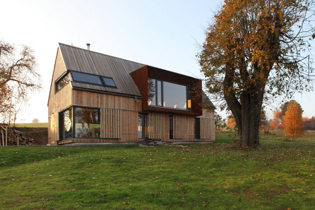 Roprachtice House by PRODESI in the Czech Republic