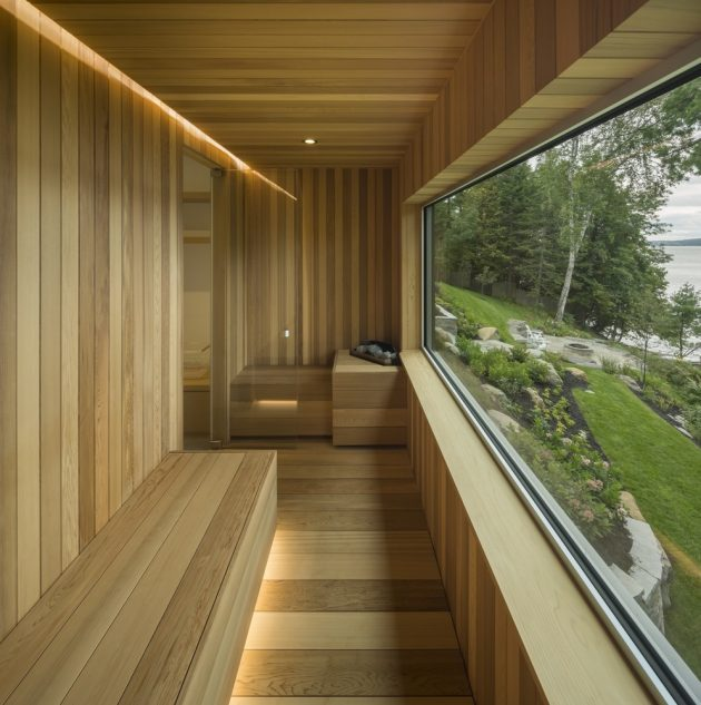 The Slender House by MU Architecture in Ogden, Canada