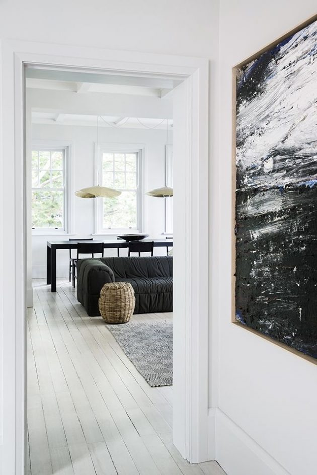 A Monochrome Arts and Crafts apartment Youll Absolutely Love