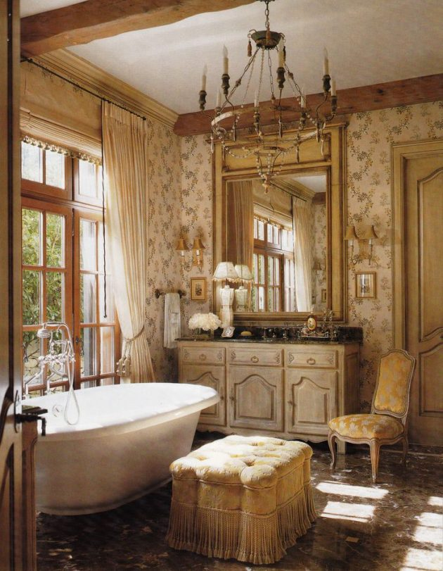 How to Create a French Bathroom