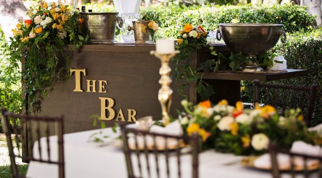 How To Build a Functional Garden Bar Area