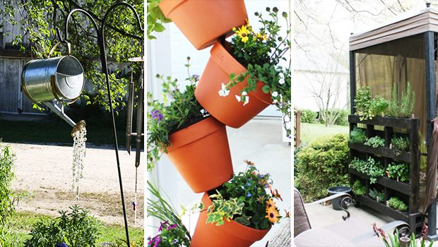 15 Astonishing DIY Garden Decor Ideas You Must Craft