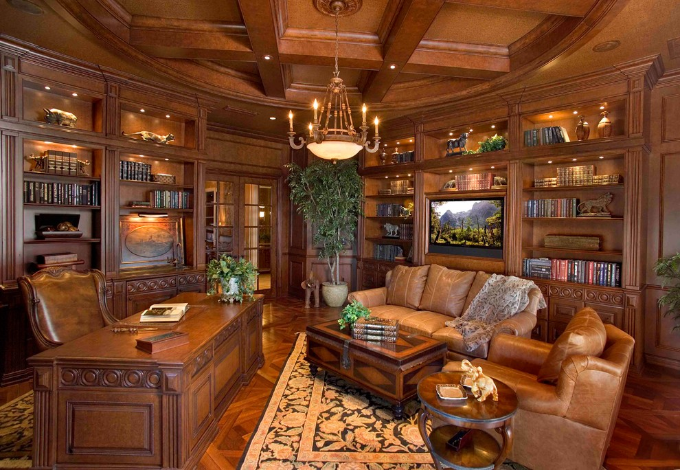 15 Dazzling Mediterranean Home Office Designs Youll Work Overtime In