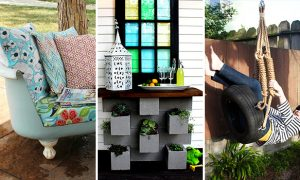 15 Terrific DIY Projects That Will Revamp Your Backyard