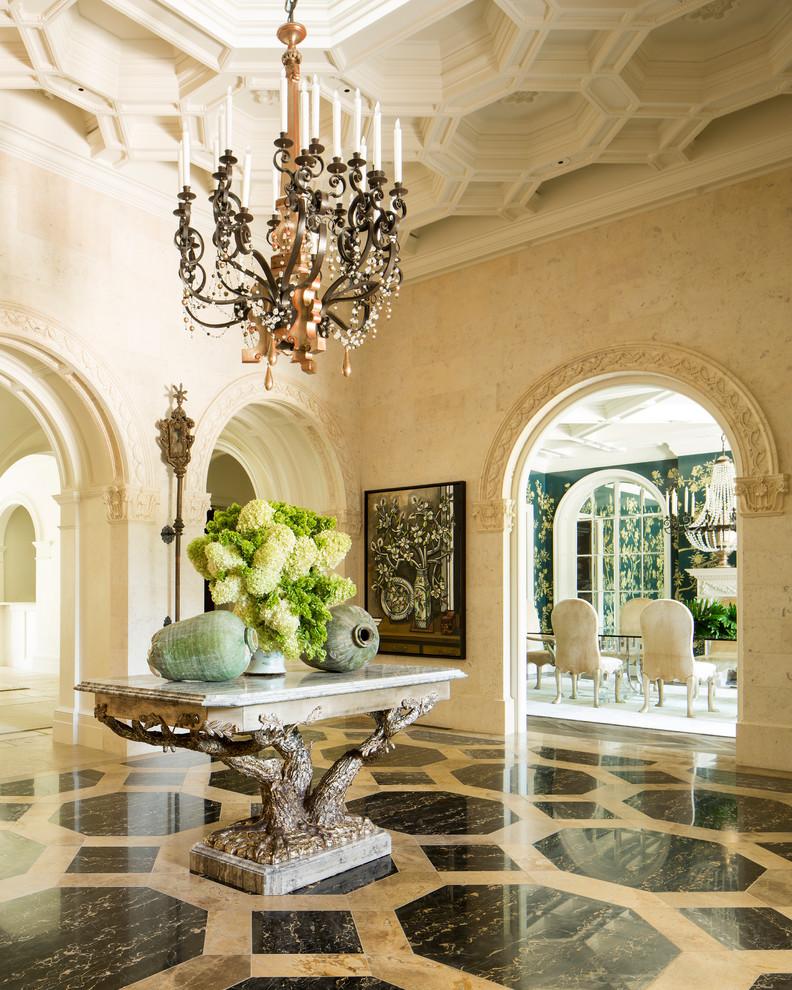 17 Breathtaking Mediterranean Entry Hall Designs That Will