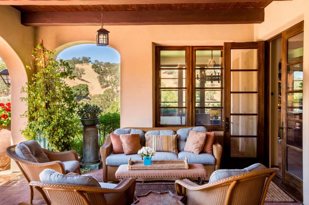 17 Posh Mediterranean Porch Designs That Abound With Elegance