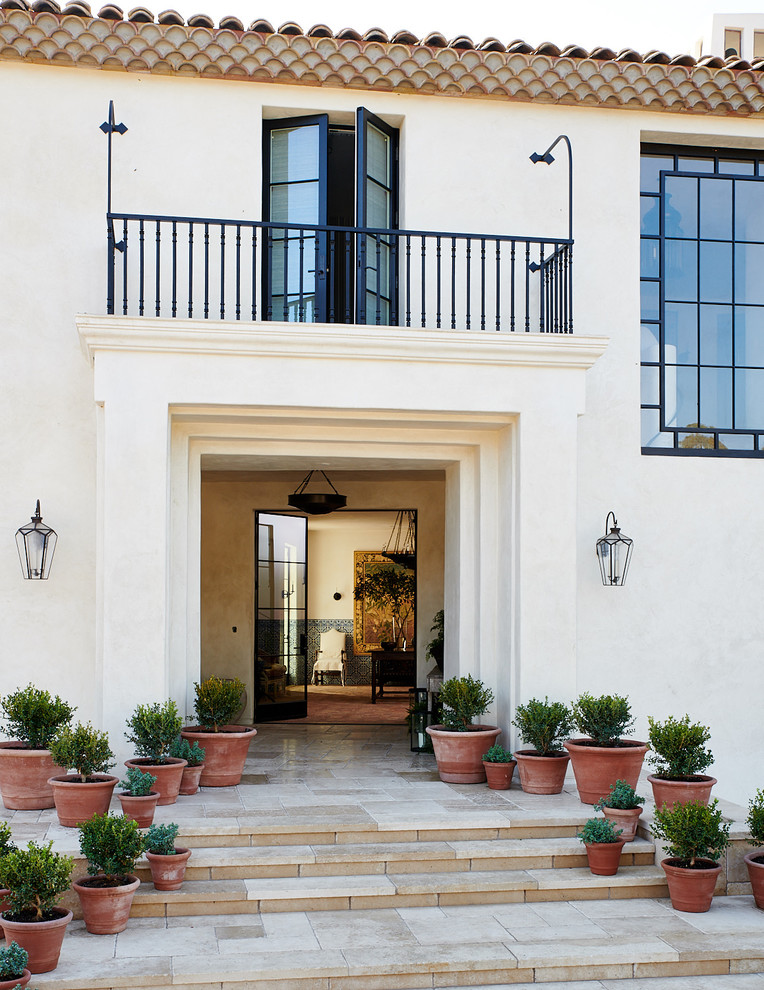 17 Spectacular Mediterranean Entrance Designs That Do Appeal